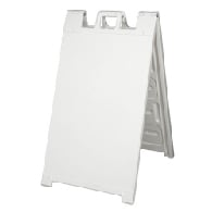 Portable Two-Sided A-Frame Sign Holder - Fits Signs Up To 24X36