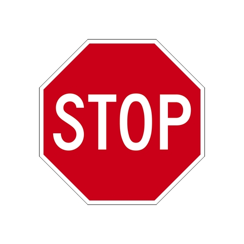 Standard MUTCD Stop Sign Design