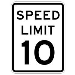 Speed Limit Signs 18x24
