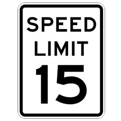 Speed Limit Sign 24x30