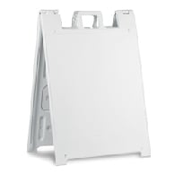 Portable Two-Sided A-Frame Sign Holders - Fits Signs Up To 24X24