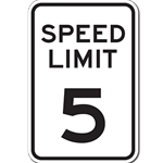 Speed Limit Sign 12x18