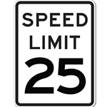 Speed Limit Sign 18x24