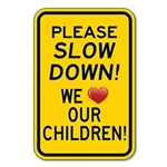 STOPSignsAndMore.com Announces Children at Play Signs Just in Time for Summer
