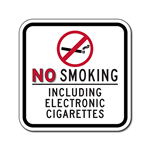 No Smoking Signs Including E-Cigarettes Are Popping Up Everywhere
