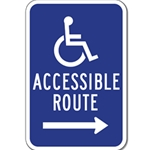 The ADA Signs, You See While Out, At Your Favorite Spots