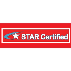 California STAR Certified Banner - 72x24