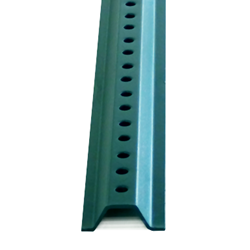 6-Foot Green U-Channel Sign Posts - Medium Gauge (1.2LBS/FT)