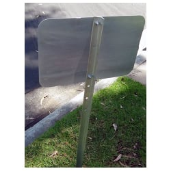 Heavy Duty Aluminum Sign Stake, Yard Stake, Sign Stake, SIGN POSTS, U-CHANNEL SIGN POSTS