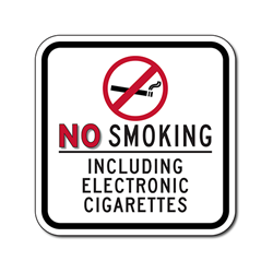 New No Smoking Signage Snuffing out Key Attraction of E-Cigs