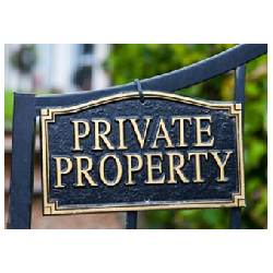 How Private Property Signs Can Serve To Protect You