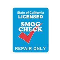 SMOG Check Repair Only Station Sign - Double-Faced - 24x30