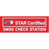 California STAR Certified Smog Check Station Banner - 72x24