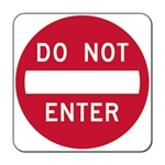 The MUTCD R5-1 Do Not Enter Sign