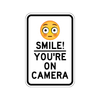 photograph regarding Smile You Re on Camera Sign Printable named Movie Surveillance Signs and symptoms Basic safety Digicam Signs or symptoms