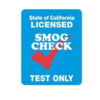 California SMOG Check Test Only Sign - Double-Faced - 24x30