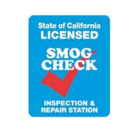 CALIFORNIA SMOG CHECK INSPECTION AND REPAIR STATION Sign - Single-Faced