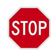 30x30 STOP Signs - 3M Engineer Grade Reflective Sheeting and Inks on Rust-Free Heavy Gauge (.080) Aluminum