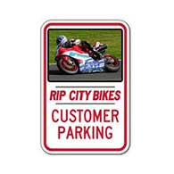 FULL COLOR 12x18 Custom Parking Signs - Constructed with Reflective Rust-Free Heavy Gauge Aluminum and Rated for at least 7 Years of No-Fade Outdoor Service