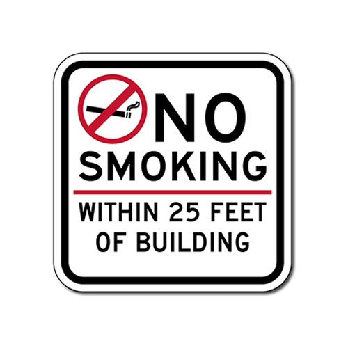It is a picture of No Smoking Sign Printable in 20 foot