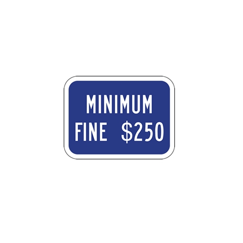 STOPSignsAndMore 12x24 R99C California Disabled Parking Space Sign
