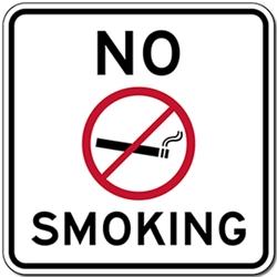 No Smoking Text And Symbol Sign Stopsignsandmore Cm