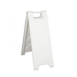 Mini Portable Two-Sided A-Frame Sign Holder - Fits Signs Up To 12X24